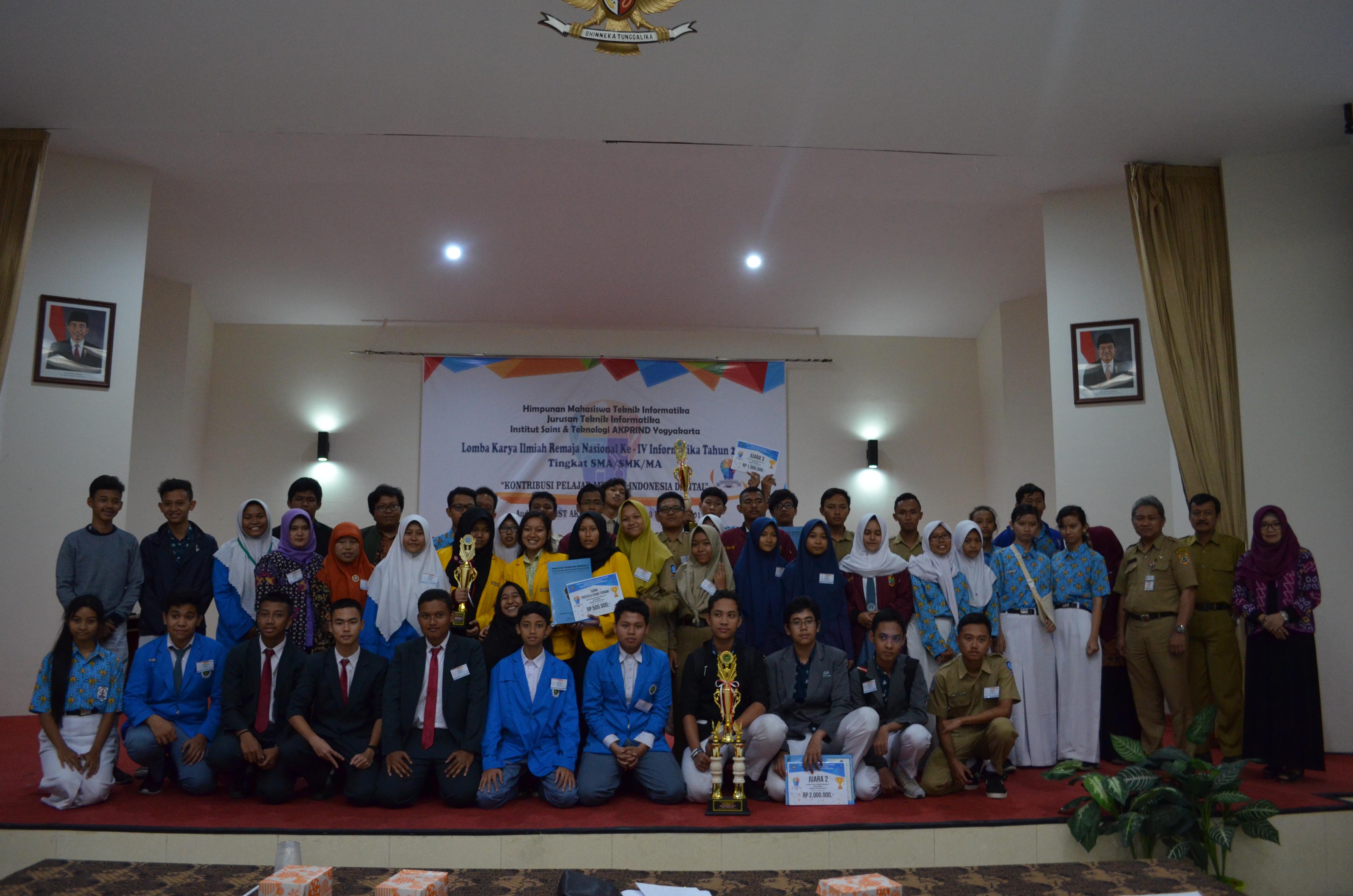 Semarak Lomba Karya Ilmiah Remaja Nasional Informatika 2017