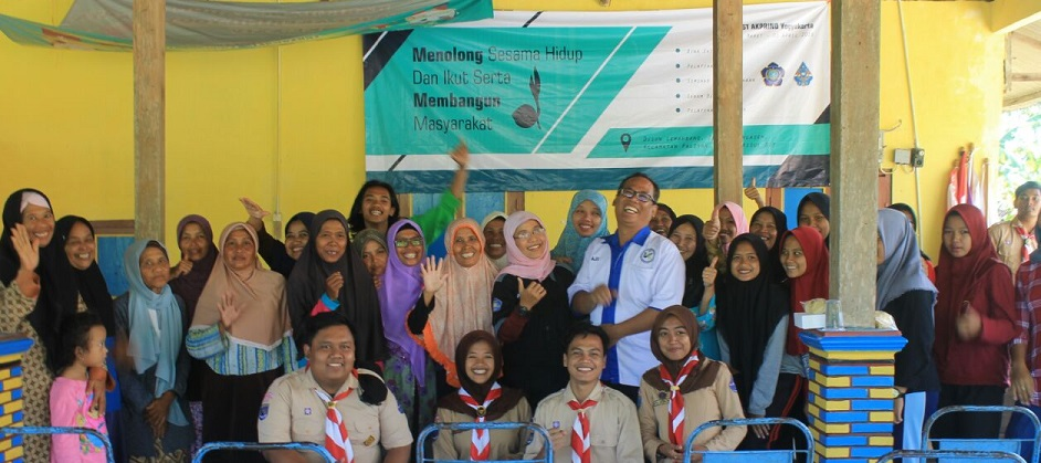 Pengabdian Masyarakat (Abdimas) IST AKPRIND YOGYAKARTA  di Dusun Lemahbang desa Karangasem, Kec. Paliyan Gunung Kidul