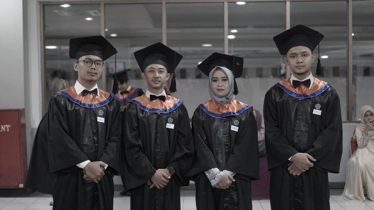Wisuda Teknik Informatika periode II Tahun Akademik 2019/2020