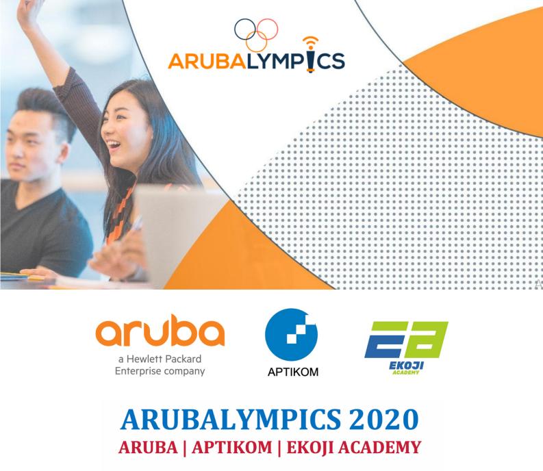 Mahasiswa Jurusan Informatika AKPRIND berlaga dalam Arubalympics 2020