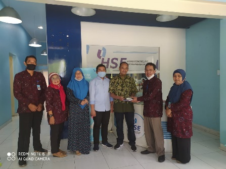 Dekatkan Industri dan jalin kemitraan – Pengurus FTI dan Informatika kunjungi HSE dan Indmira Group