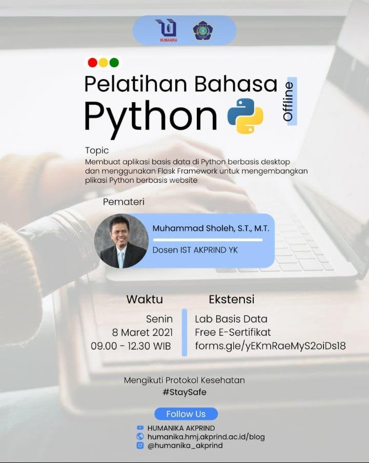 Pelatihan Bahasa Python