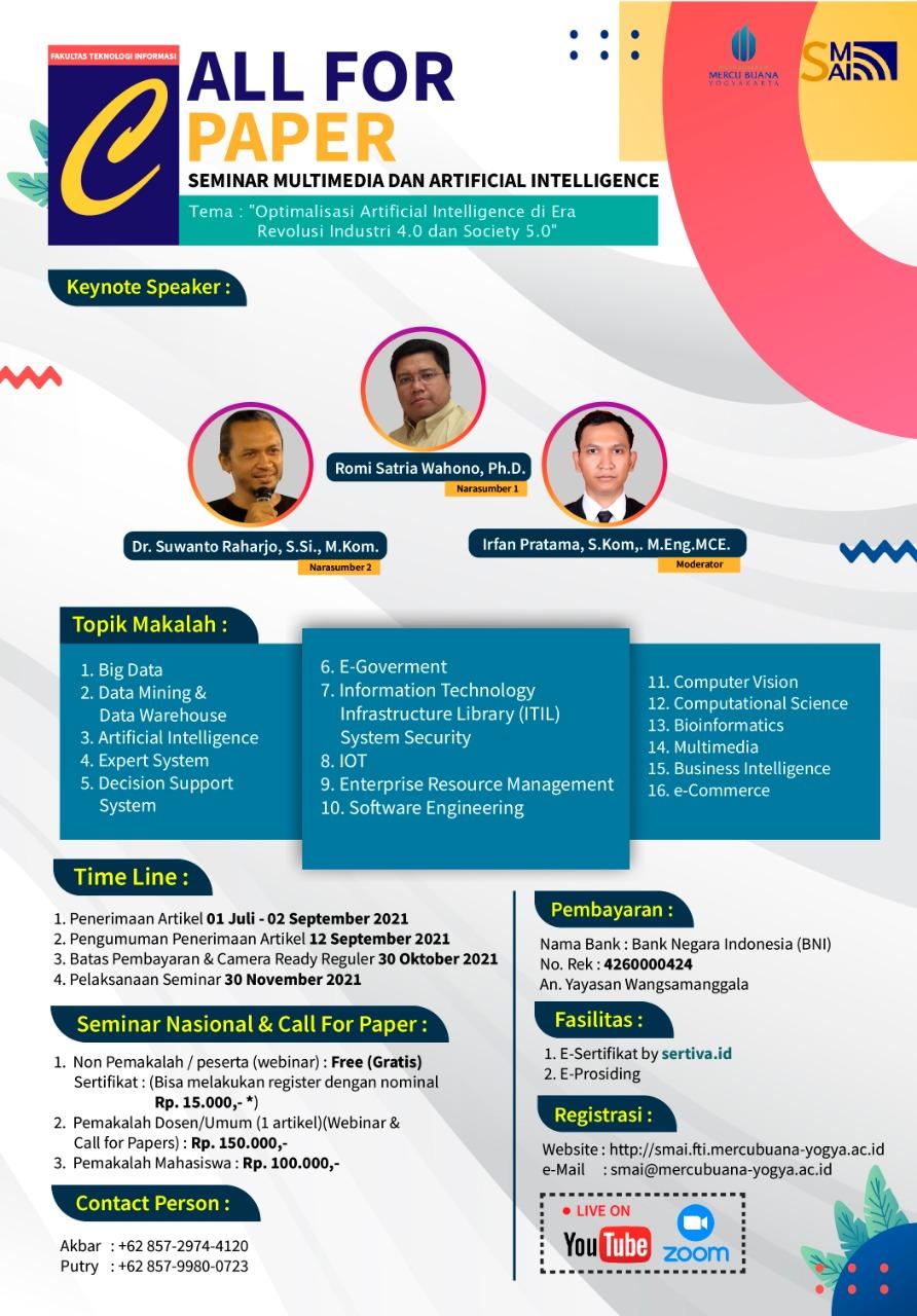 Seminar Multimedia & Artificial Intelligence